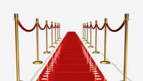 Красный ковер Стоковое фото RF