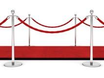 Красный ковер Стоковые Фотографии RF