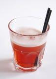 Красный коктеил в стекле Стоковые Изображения