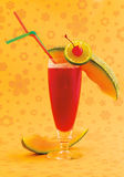 Красный коктеил спирта Стоковые Изображения