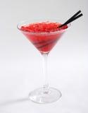 Красный коктеил с льдом Стоковое Изображение RF
