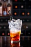 Красный коктеиль плодоовощ Стоковое Изображение