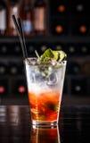 Красный коктеиль плодоовощ Стоковое Фото