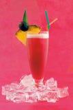 Красный коктеил Стоковое Фото