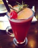 Красный коктеил Стоковые Изображения