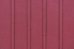 Красный конец siding предкрылка амбара вверх Стоковое Изображение RF