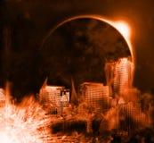красный космос стоковые фотографии rf