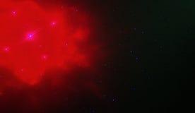 красный космос Стоковое Изображение RF