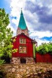 Красный коттедж Стоковое Фото
