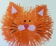 Красный кот иллюстрация штока