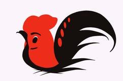 Красный кран Стоковое фото RF