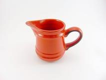 Красный кувшин молока Стоковая Фотография