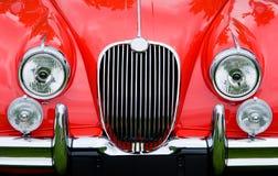 Красный классицистический автомобиль спортов Стоковая Фотография