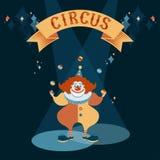 Красный клоун бесплатная иллюстрация