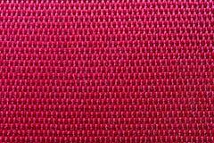 Красный макрос полиэстера стоковое фото rf