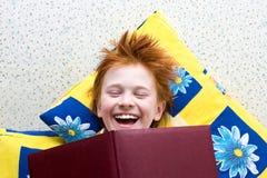 Красный мальчик Стоковое Изображение RF