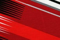 Красный материал с абстрактной картиной, предпосылкой стоковое фото rf