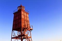 Красный маяк Стоковые Изображения RF