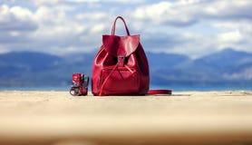 Красный мешок Стоковые Изображения RF