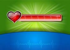 Красный медицинский символ Стоковая Фотография