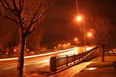 Красный мост Стоковые Фотографии RF