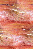 Красный мрамор - безшовная абстрактная предпосылка Стоковое Фото