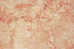 Красный мрамор. Стоковая Фотография