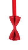 Красный натянутый лук Стоковое фото RF