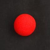 Красный нос клоуна дальше Стоковое Фото