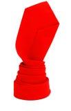 красный оборачивать связи Стоковая Фотография RF