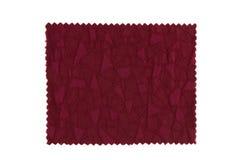 Красный образец ткани Стоковые Фотографии RF