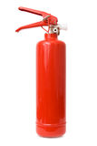 Красный огнетушитель Стоковая Фотография
