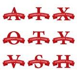 Логос диапазона альфаы Стоковые Фото