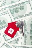 Красный домашний знак Стоковая Фотография RF