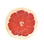 Красный ломтик грейпфрута Стоковое Изображение