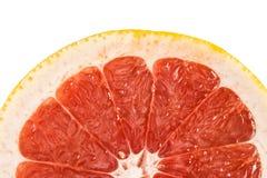 Красный ломтик грейпфрута Стоковые Фотографии RF