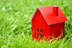 Красный дом Стоковое Изображение