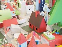 Красный дом Стоковые Фото