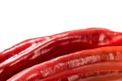 Красный органический перец закуски, bellpepper с copyspace стоковые изображения rf
