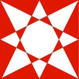 Красный орнамент Стоковая Фотография RF