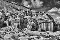 Красный парк штата каньона утеса в Калифорнии стоковое изображение rf