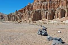 Красный парк штата Калифорния США каньона утеса Стоковое фото RF