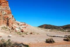 Красный парк штата Калифорния США каньона утеса Стоковые Изображения