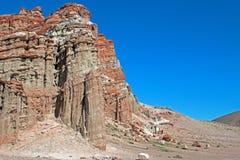 Красный парк штата Калифорния США каньона утеса Стоковые Изображения RF