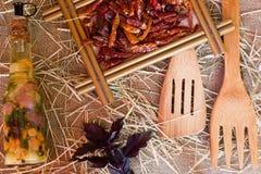 Красный пеец Chili стоковое фото rf