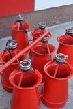 Красный пениться стоковые фотографии rf