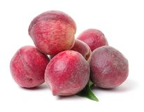 Красный персик стоковое изображение