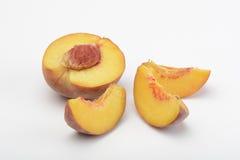 Красный персик стоковое изображение rf