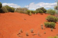 красный песок Стоковое фото RF