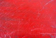 Красный покрашенный шифер стоковые изображения